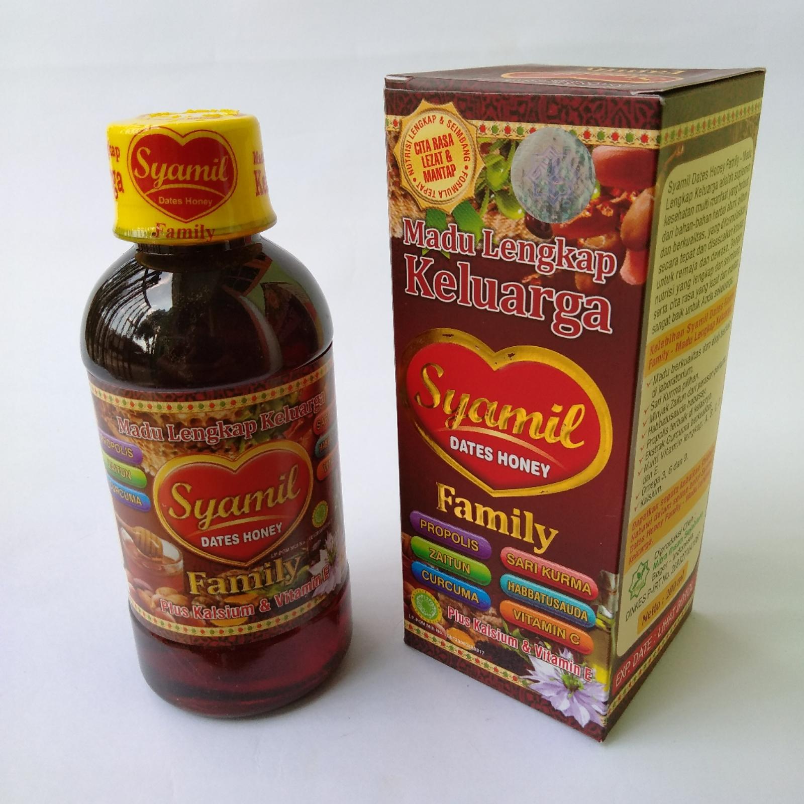 Syamil Madu Lengkap Keluarga Dates Honey 200 Ml Beli Harga Si Buah Hati Family Rp30000